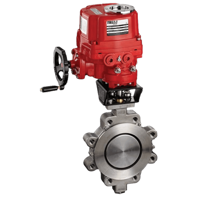 Power-Seal Performance Automated Butterfly Valve