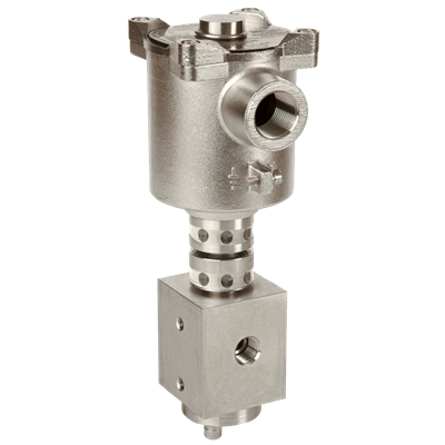 FP10P 3/2 Direct-Acting Solenoid Valve