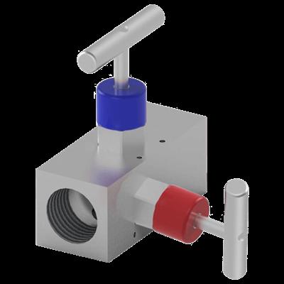 NV22 Block & Bleed Compact Manifold