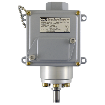604TU Series Temperature Switch