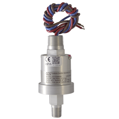 611V8000 Series Pressure Switch