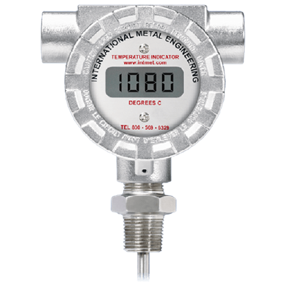 Model 8080KN Battery Operated Digital Temperature Indicator
