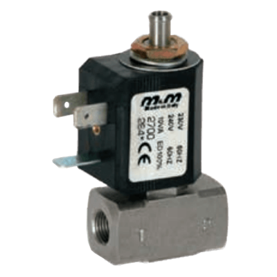 B398 3/2-Way Direct-Acting Solenoid Valve, G 1/8""