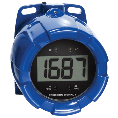 PD6870 ProtEX FarVu Explosion-Proof Large Display Loop-Powered Meter