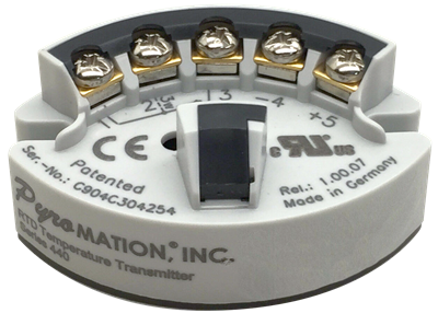 Series 440 Programmable RTD Temperature Transmitter