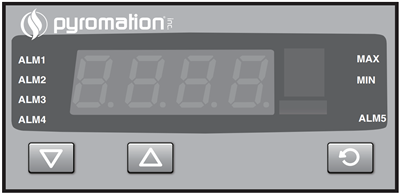 Series 810 1/8 DIN Digital Indicator