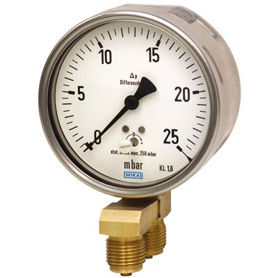 Model 716.11, 736.11 Differential Pressure Gauge
