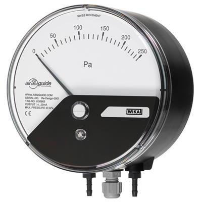 Model A2G-15 Differential Pressure Gauge with Output Signal