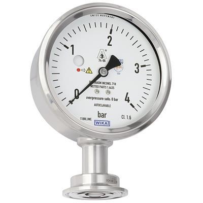 Model PG43SA-D Diaphragm Pressure Gauge Flush