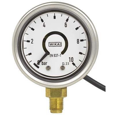 Bourdon Tube Pressure Gauge with Output Signal - PGT21