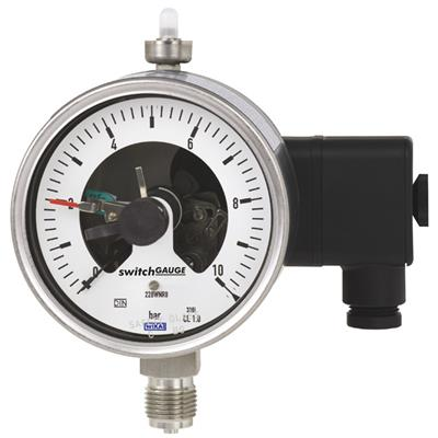 Bourdon Tube Pressure Gauge with Switch Contacts - PGS23.100, PGS23.160