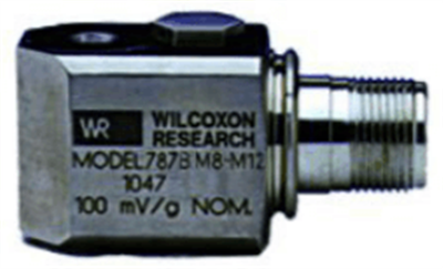 Model 787BM8-M12 Low Profile, General Purpose Accelerometer