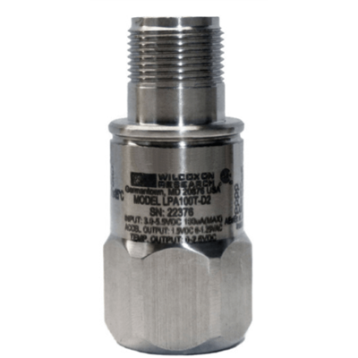 Model LPA100T-D2 Certified Low-Power Low-Voltage Accelerometer